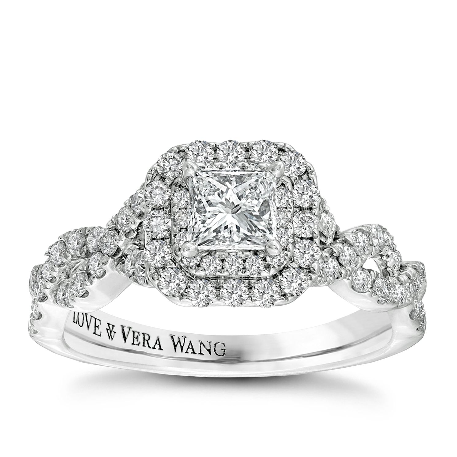 love brand gold vera number l webstore jewellery pear wang ring jones ernest rings white engagement diamond cluster product