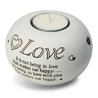 Said With Sentiment Love Tea Light Holder - Product number 2609983