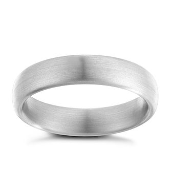 Men's titanium 5mm matt ring - Product number 2615819