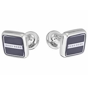 Hugo Boss Robert men's square navy cuff links - Product number 2621991