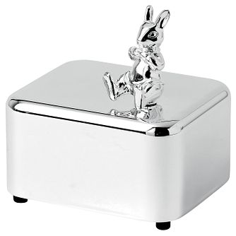 Wedgwood silver plated Bunnykins music box - Product number 2622408