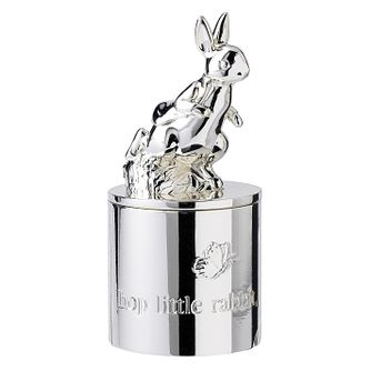 Royal Doulton Silver Plated Peter Rabbit Tooth Box - Product number 2622432