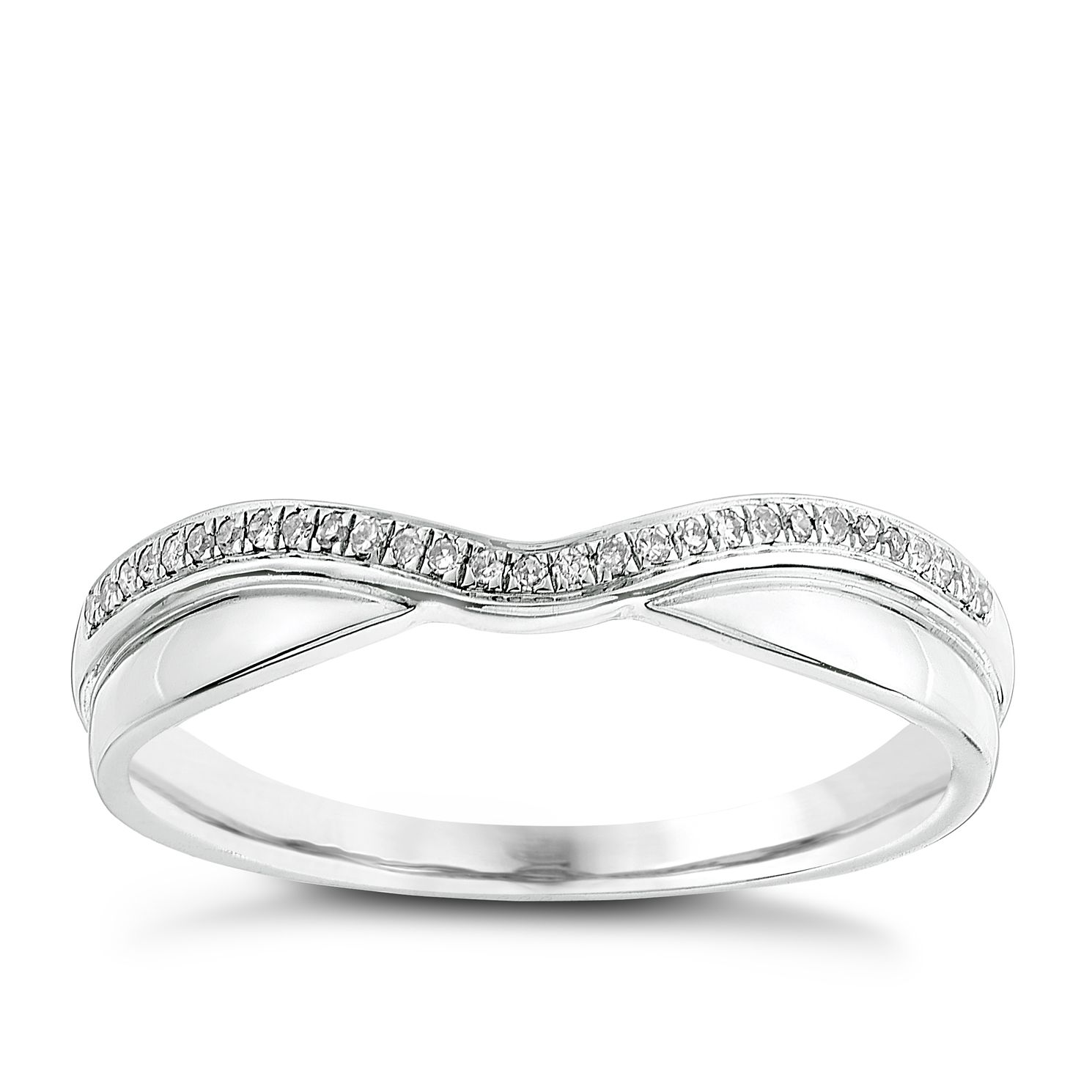 curved abila rings band womens diamond women wedding s do amore bands