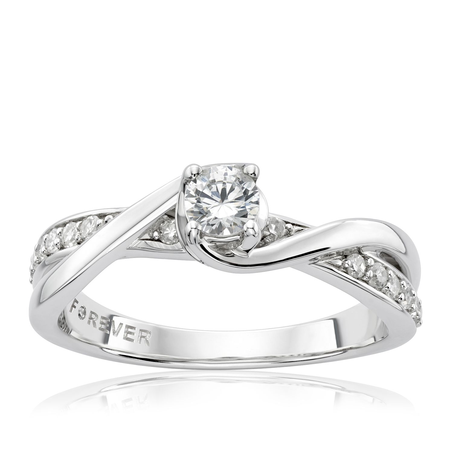 shank cut engagement price registry rings diamond split ring oval carat