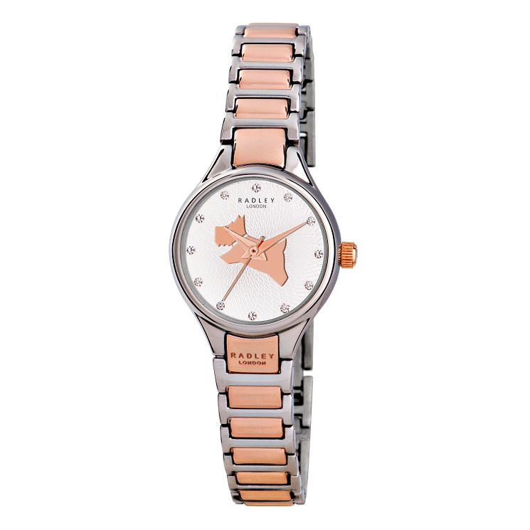 Radley Ladies' Two Tone Stone Set Bracelet Watch - Product number 2777673