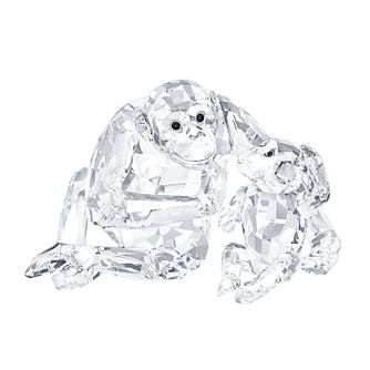 Swarovski Crystal Chimpanzee & Baby - Product number 2778521