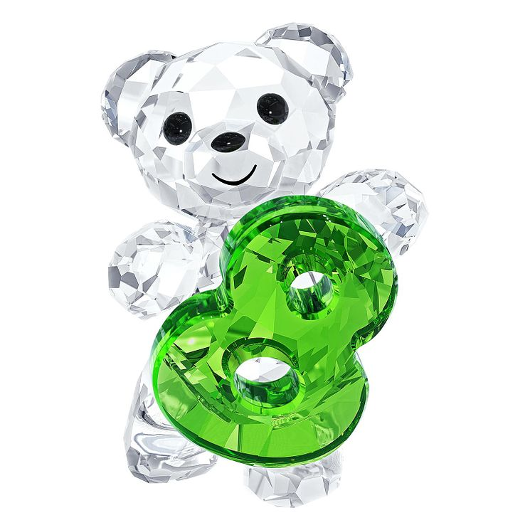 Swarovski Crystal Kris Bear Number Eight - Product number 2778831