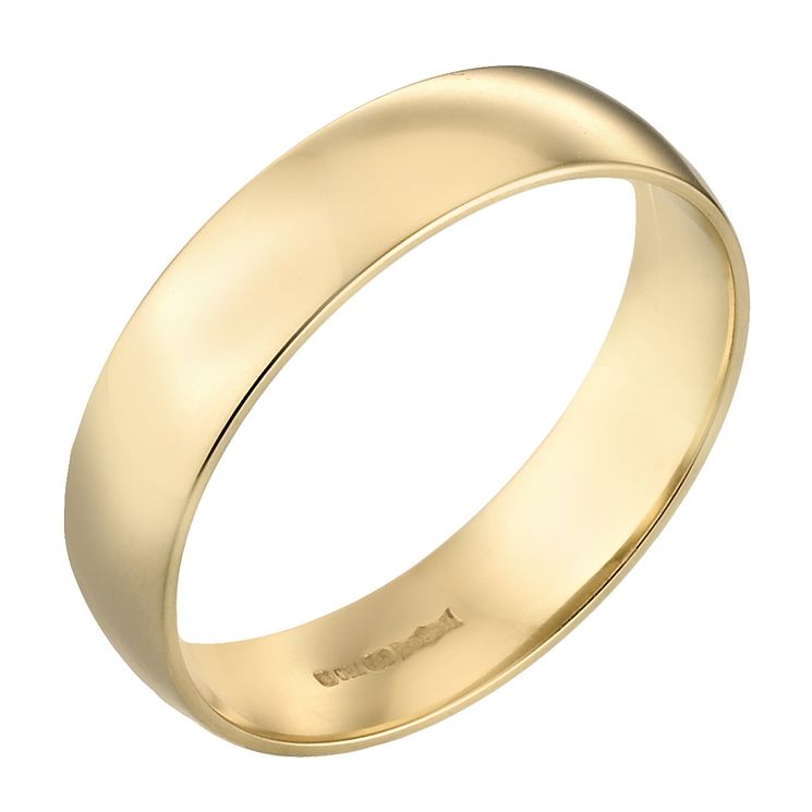 22ct Yellow Gold 6mm Super Heavy Court Ring - Product number 2797933