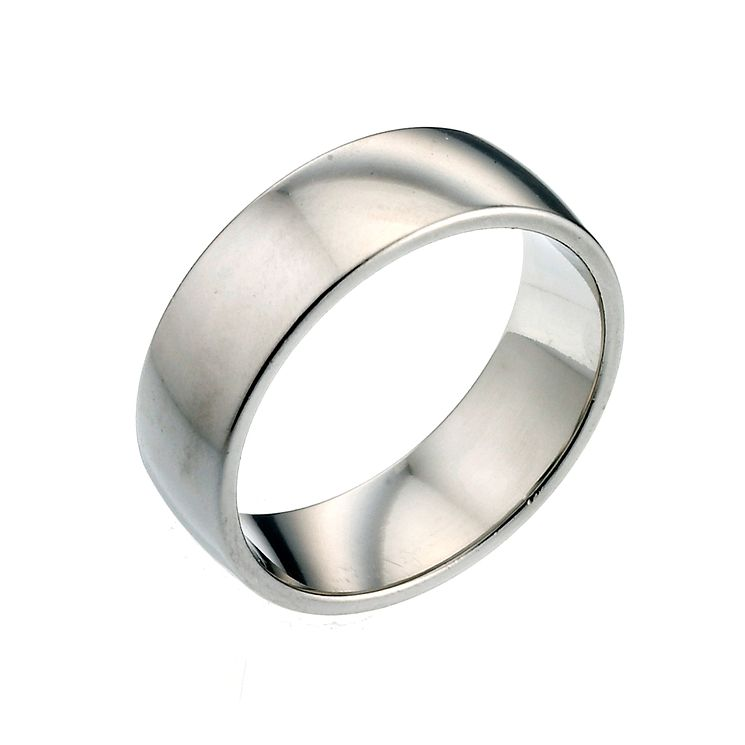 Palladium 950 7mm Extra Heavy Court Ring - Product number 2807963