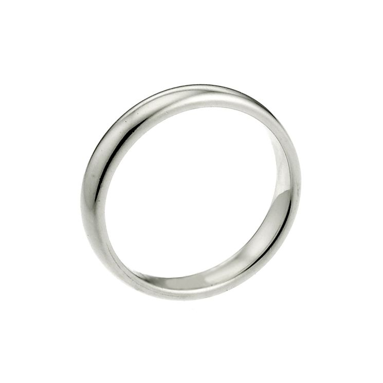 Palladium 950 2mm Super Heavy Court Ring - Product number 2808641