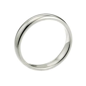 Palladium 950 2mm Extra Heavy Court Ring - Product number 2817829