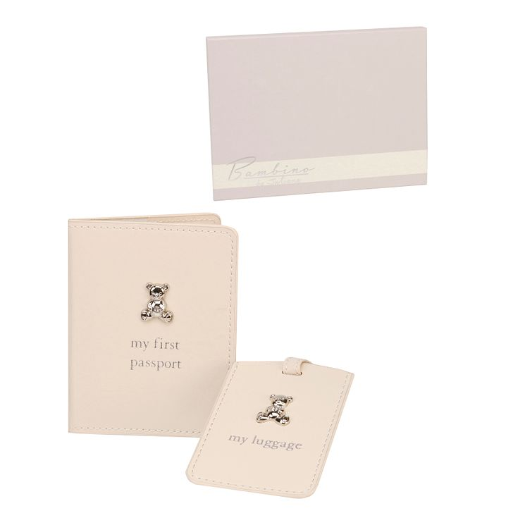 Little Princess Passport Holder and Tag