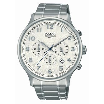 Pulsar Men's Chronograph Stainless Steel Bracelet Watch - Product number 2826127