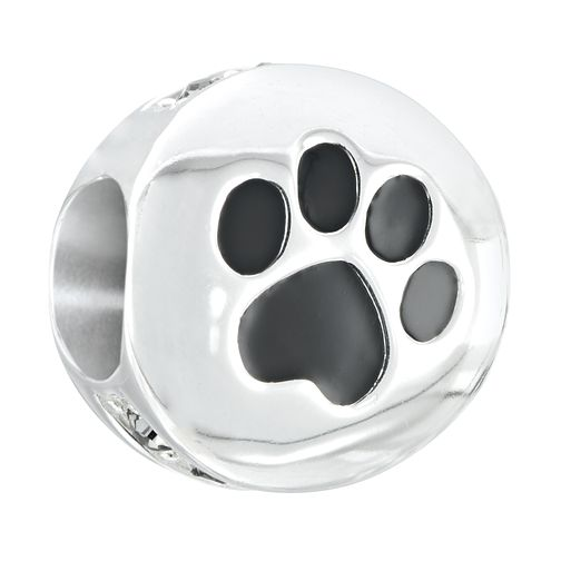 Chamilia Sterling Silver Paw Print Bead - Product number 2826836