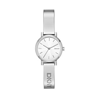 DKNY Ladies' Soho Stainless Steel Half Bangle Watch - Product number 2833557