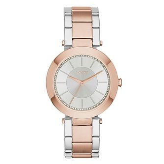 DKNY Ladies' Two-Tone Stone Set Watch - Product number 2833867