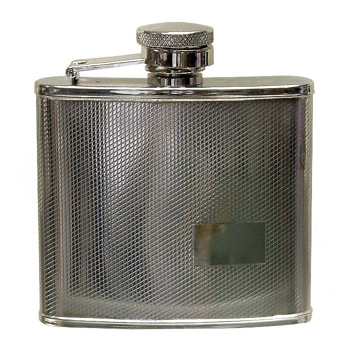Stainless Steel 4oz Flask - Product number 2836890