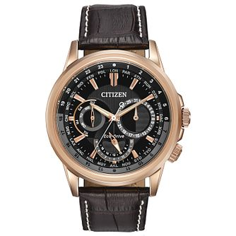 Citizen Men's Eco-Drive Calendrier Watch - Product number 2840480