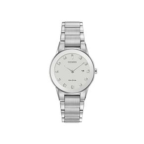 Citizen Ladies' Eco-Drive Axiom Diamond Bracelet Watch - Product number 2840642