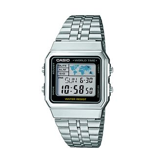 Casio Men's Stainless Steel Digital Bracelet Watch - Product number 2841193