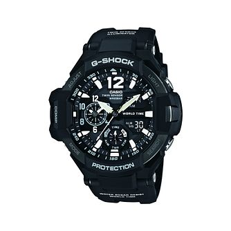 Casio G-Shock Men's Black Resin Aviator Watch - Product number 2841215