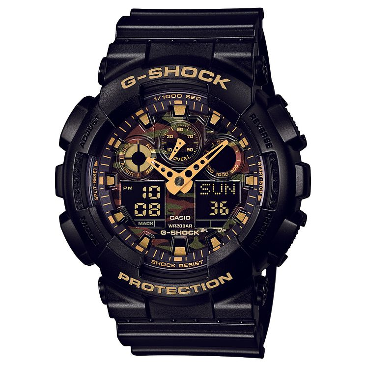 G-Shock Camo Black Resin Strap Watch - Product number 2841266