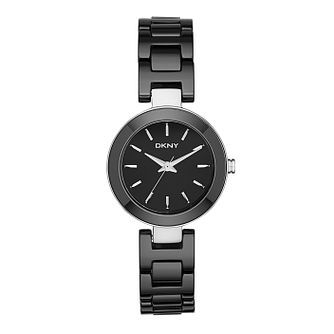 Dkny Stanhope Ladies' Stainless Steel Ceramic Bracelet Watch - Product number 2845865