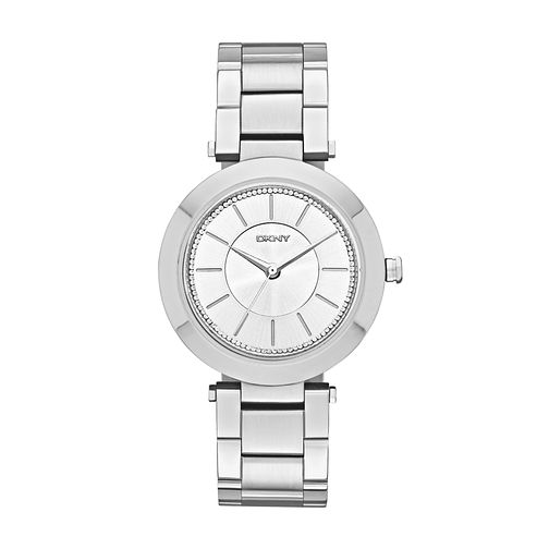 Dkny Ladies' Stone Set Stainless Steel Bracelet Watch - Product number 2845911