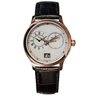 Dreyfuss & Co men's rose gold-plated bracelet watch - Product number 2866900