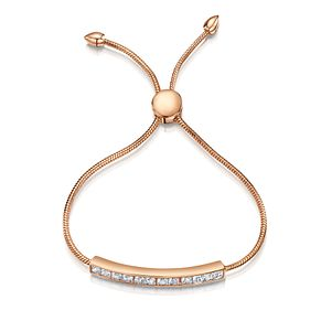 Buckley London Rose Gold Plated Crystal Friendship Bracelet - Product number 2868598