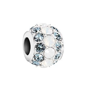 Chamilia Splendor Indian sapphire and white opal bead - Product number 2872617