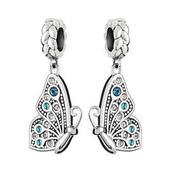 Chamilia Best Friends sterling silver butterfly pair charm - Product number 2872676