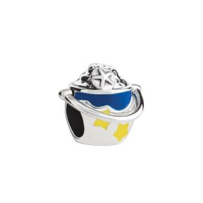 Chamilia Sterling Silver & Enamel Beach Pail Bead - Product number 2876531