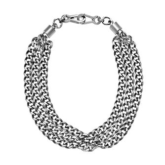 DKNY Chamber Stainless Steel Statement Chain Necklace - Product number 2876787