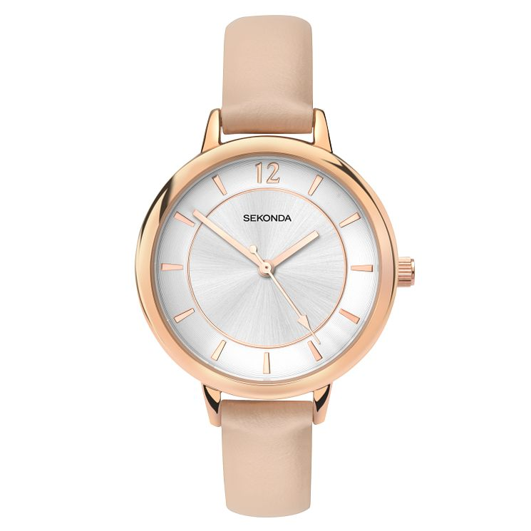 Sekonda Summer-Time Editions Ladies' Cream Strap Watch - Product number 2881713