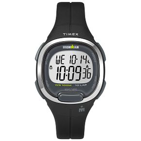 Timex Ironman Ladies' Digital Black Resin Strap Watch - Product number 2892375