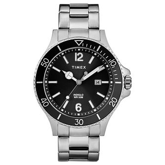 Timex Harborside Men's Stainless Steel Bracelet Watch - Product number 2892448