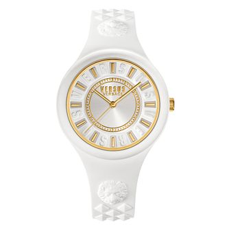 Versus Versace Ladies' White Silicone Strap Watch - Product number 2892723