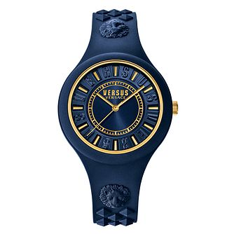Versus Versace Ladies' Blue Silicone Strap Watch - Product number 2892758
