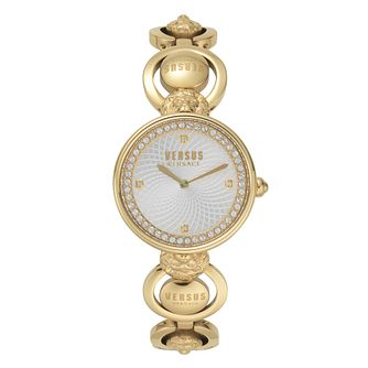 Versus Versace Ladies' Gold Tone Bracelet Watch - Product number 2892812
