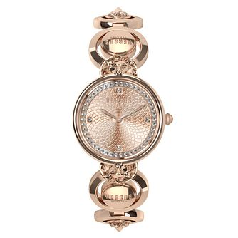 Versus Versace Ladies' Rose Gold Tone Bracelet Watch - Product number 2892820