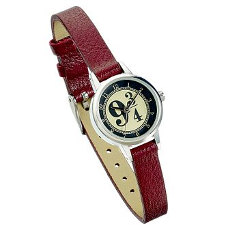 Harry Potter Platform 9 3/4 Burgundy PU Strap Watch - Product number 2892936