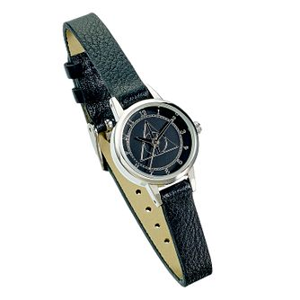 Harry Potter Deathly Hallows Black PU Strap Watch - 22mm - Product number 2892944