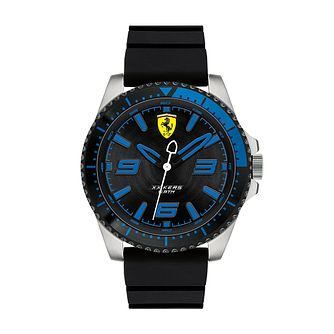 Ferrari Scuderia XX Kers Men's Black Silicone Strap Watch - Product number 2899612