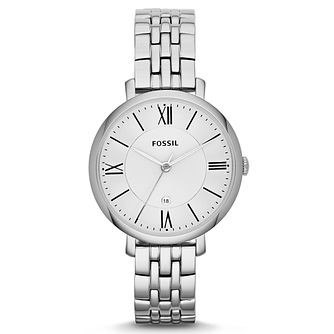 Fossil Jacqueline Ladies' Stainless Steel Bracelet Watch - Product number 2901730