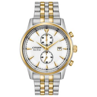 Citizen Eco-Drive Men's Two-Tone Bracelet Watch - Product number 2908484
