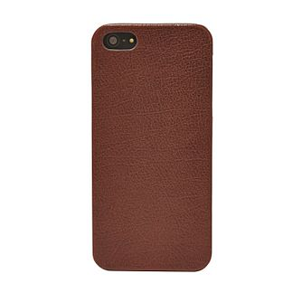 Fossil dark brown leather iPhone 5 case - Product number 2909154