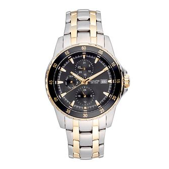 Accurist Men's Two Tone Bracelet Watch - Product number 2920247