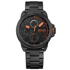 Hugo Boss Orange Men's Black Stainless Steel Bracelet Watch - Product number 2922649