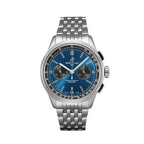 Breitling Premier B01 Chronograph Blue Dial Bracelet Watch - Product number 2923386